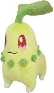 Figura de Chikorita de Peluche - Figuras coleccionables de Chikorita de Pokemon