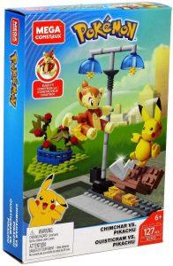 Figura de Chimchar Vs Pikachu de Mega Construx - Figuras coleccionables de Chimchar de Pokemon