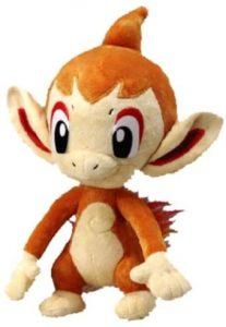 Figura de Chimchar de Peluche - Figuras coleccionables de Chimchar de Pokemon