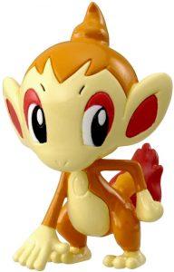 Figura de Chimchar de Takara Tomy - Figuras coleccionables de Chimchar de Pokemon