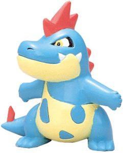Figura de Croconaw de Takara Tomy - Figuras coleccionables de Totodile de Pokemon