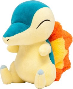 Figura de Cyndaquil de Peluche - Figuras coleccionables de Cyndaquil de Pokemon