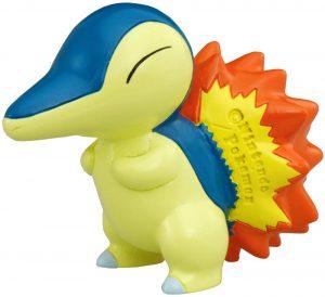 Figura de Cyndaquil de Takara Tomy - Figuras coleccionables de Cyndaquil de Pokemon