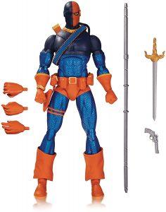 Figura de Deathstroke de DC Icons - Figuras coleccionables de Deathstroke