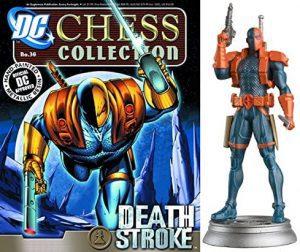 Figura de Deathstroke de dc comics Chess Figurine Collection - Figuras coleccionables de Deathstroke