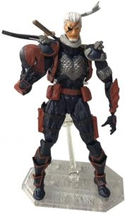 Figura de Deathstroke sin máscara de DC Comics - Figuras coleccionables de Deathstroke