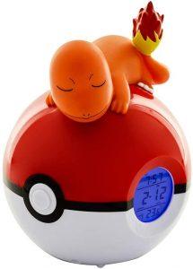 Figura de Despertador Charmander de Teknofun Pokémon - Figuras coleccionables de Charizard de Pokemon