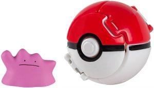 Figura de Ditto con Pokeball - Figuras coleccionables de Ditto de Pokemon