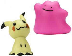 Figura de Ditto y Mimikyu de Giochi Preciozi de Pokemon Battle - Figuras coleccionables de Ditto de Pokemon