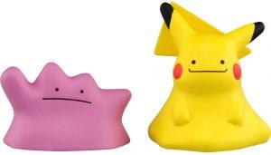 Figura de Ditto y Pikachu Ditto de Takara Tomy - Figuras coleccionables de Ditto de Pokemon