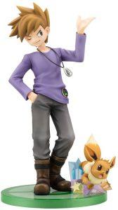 Figura de Eevee con Blue de Kotobukiya - Figuras coleccionables de Eevee de Pokemon