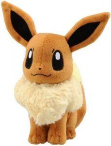 Figura de Eevee de Peluche 2 - Figuras coleccionables de Eevee de Pokemon