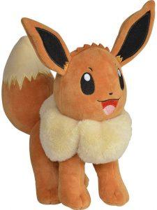 Figura de Eevee de Peluche - Figuras coleccionables de Eevee de Pokemon