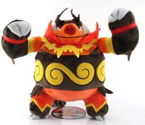 Figura de Emboar de Peluche - Figuras coleccionables de Emboar de Pokemon