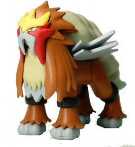 Figura de Entei de Bandai - Figuras coleccionables de Entei de Pokemon