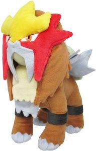 Figura de Entei de Peluche - Figuras coleccionables de Entei de Pokemon