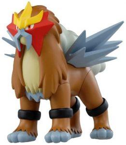 Figura de Entei de Tomy - Figuras coleccionables de Entei de Pokemon