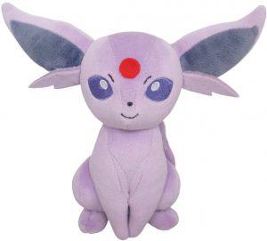 Figura de Espeon de Peluche - Figuras coleccionables de Eevee de Pokemon