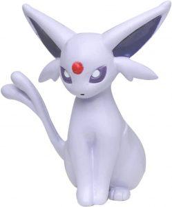 Figura de Espeon de Takara Tomy - Figuras coleccionables de Eevee de Pokemon