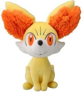 Figura de Fennekin de Peluche 2 - Figuras coleccionables de Fennekin de Pokemon