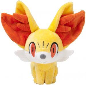 Figura de Fennekin de Peluche - Figuras coleccionables de Fennekin de Pokemon