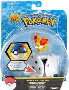 Figura de Fennekin de Tomy - Figuras coleccionables de Fennekin de Pokemon