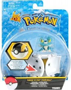 Figura de Froakie de Tomy - Figuras coleccionables de Froakie de Pokemon