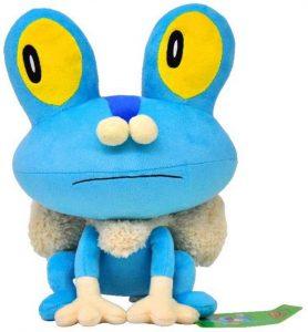 Figura de Froakie de peluche - Figuras coleccionables de Greninja de Pokemon
