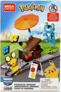 Figura de Froakie vs Pikachu de Mega Construx - Figuras coleccionables de Froakie de Pokemon