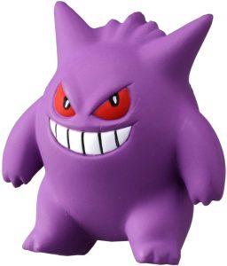 Figura de Gengar de Takara Tomy - Figuras coleccionables de Gengar de Pokemon