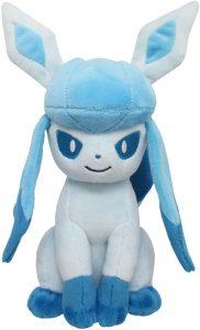 Figura de Glaceon de Peluche - Figuras coleccionables de Eevee de Pokemon