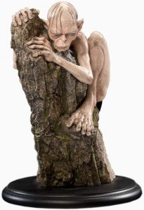 Figura de Gollum de Weta Collectibles - Figuras coleccionables de Gollum del Señor de los anillos
