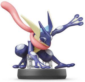 Figura de Greninja de Ash de Amiibo- Figuras coleccionables de Greninja de Pokemon