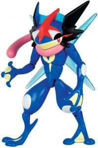 Figura de Greninja de Ash de Pokemon de Takara Tomy 2 - Figuras coleccionables de Greninja de Pokemon