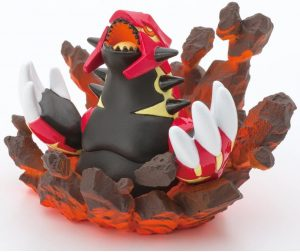 Figura de Groudon de Nintendo - Figuras coleccionables de Groudon de Pokemon
