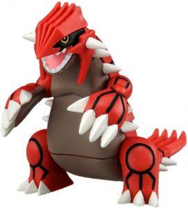 Figura de Groudon de Takara Tomy - Figuras coleccionables de Groudon de Pokemon