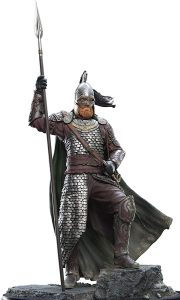Figura de Guerrero de Rohan de Weta Collectibles - Figuras coleccionables de Guerrero de Rohan del Señor de los anillos