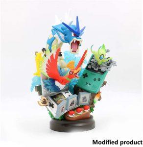 Figura de Gyarados, Ho-Oh y Celebi de Collection - Figuras coleccionables de Celebi de Pokemon