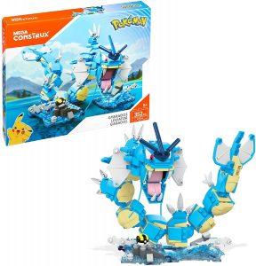 Figura de Gyarados de Mega Construx - Figuras coleccionables de Gyarados de Pokemon