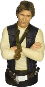 Figura de Han Solo Busto de Gentle Giant - Figuras coleccionables de Han Solo de Star Wars