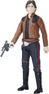 Figura de Han Solo Movie de Hasbro - Figuras coleccionables de Han Solo de Star Wars