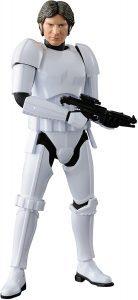 Figura de Han Solo Stormtrooper de Una Nueva Esperanza de Bandai - Figuras coleccionables de Han Solo de Star Wars