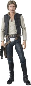 Figura de Han Solo de Una Nueva Esperanza de Bandai - Figuras coleccionables de Han Solo de Star Wars