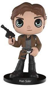 Figura de Han Solo de Wobbler - Figuras coleccionables de Han Solo de Star Wars