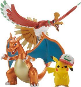 Figura de Ho-Oh, Charizard y Pikachu de Bandai - Figuras coleccionables de Ho-Oh de Pokemon