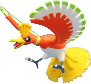 Figura de Ho-Oh de Takara Tomy 2 - Figuras coleccionables de Ho-Oh de Pokemon
