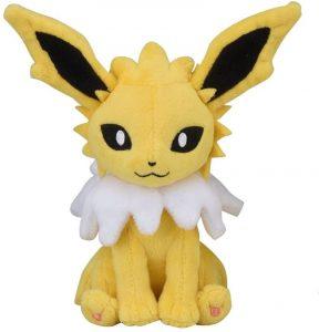Figura de Jolteon de Peluche - Figuras coleccionables de Eevee de Pokemon