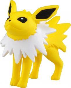 Figura de Jolteon de Takara Tomy - Figuras coleccionables de Eevee de Pokemon