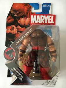 Figura de Juggernaut de los X-Men de Fury Files - Figuras coleccionables de Juggernaut