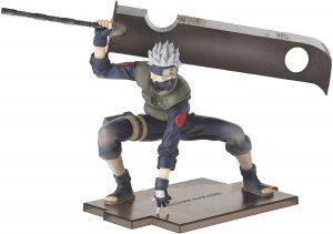 Figura de Kakashi con espada de Naruto de Megahouse - Figuras coleccionables de Kakashi